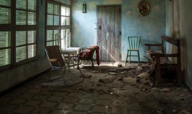 Una de les imatges de l'exposició 'On s'atura el temps'