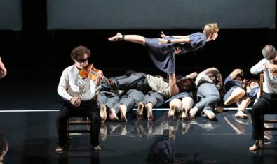 Una escena del espectáculo 'Opus'