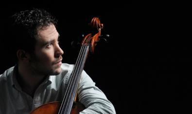 El músico Òscar Alabau