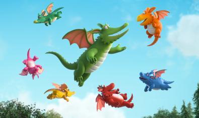 'Zog, dragones y heroínas' forma parte del catálogo de Rita&Luca Films.