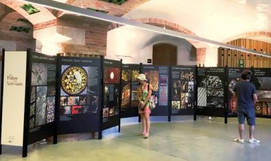 Una imagen de la exposición 'El Palacio de los Artesanos'