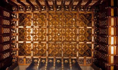 Detall del Palau Güell