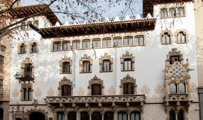 Façana del Palau Macaya