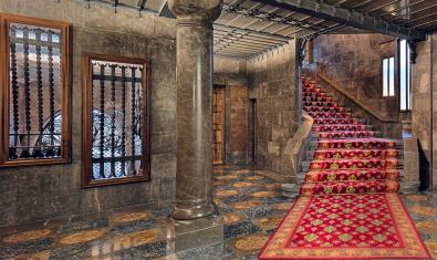 Una imatge del Palau Güell.