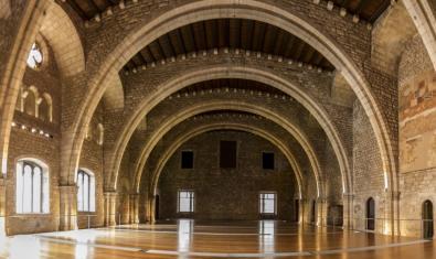 El Saló del Tinell és un dels espais més emblemàtics del Palau Reial Major