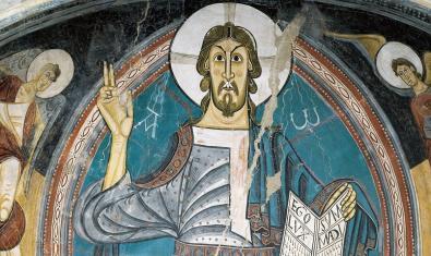 El Pantocrátor de Sant Climent de Taüll, una de las obras maestras del MNAC
