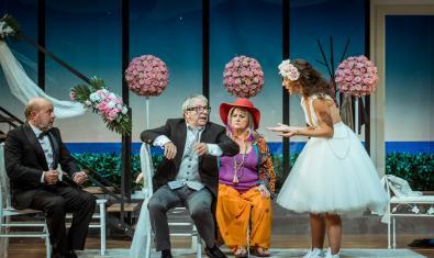 Una escena de la comèdia 'El pare de la núvia'
