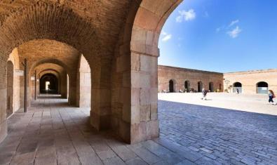 Imagen de archivo del Patio de Armas del Castillo de Montjuïc