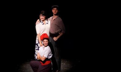 Fotografía de los protagonistas de la obra