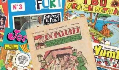 Portades de revistes infantils i juvenils antigues
