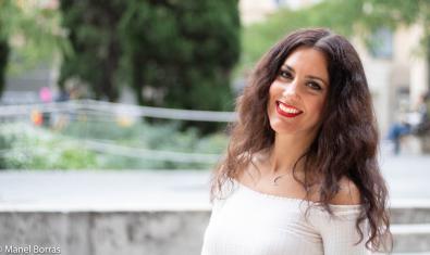 La artista Paula Domínguez