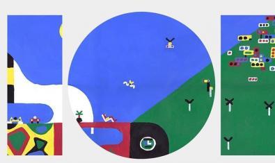 Una de las obras del artista francés con la forma del número 101
