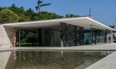 El Pavelló Alemany dissenyat per Mies van der Rohe