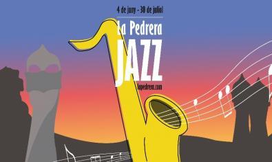 Imagen gráfica del programa La Pedrera Jazz