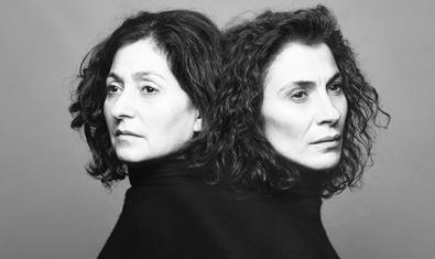 Les actrius Isabelle Bres (esquerra) i Maria Pau Pigem