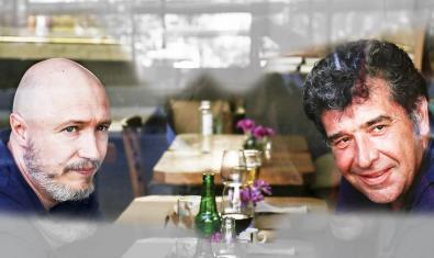 Xavier Bertran, a la izquierda, y Jordi Coromina, los dos actores de 'Perduts'