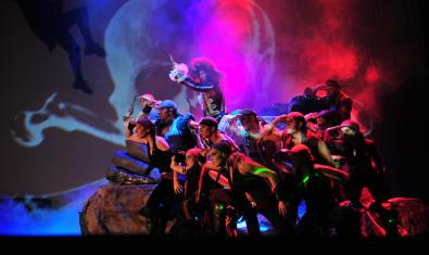 Escena dels pirates a l'escenari
