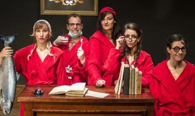 Els Pirates Teatre, una de las compañías que participan en la iniciativa, en una imagen promocional de su montaje 'L'educació'