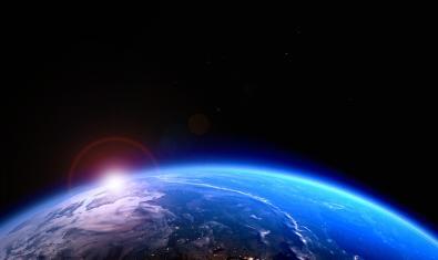 La Terra des de l'espai