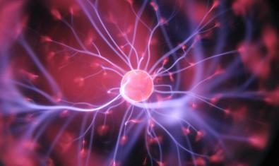 Imagen de una bola de plasma