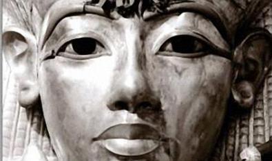 Detall del sarcòfag de Tutankamon.