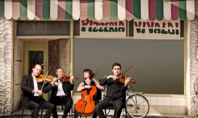 Imagen promocional del concierto que ofrecerá la OSV el 28 de abril