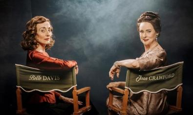 Carme Elias i Vicky Peña caracteritzades de Bette Davis i Joan Crawford