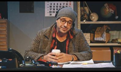 Roger Pera és l'únic intèrpret de 'Quina feinada!', de Ventura Pons