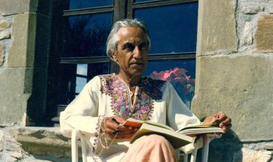 Raimon Panikkar en una fotografia de l'any 1980