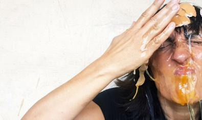 Agnès Mateus en una imagen promocional de la obra