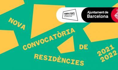 Imagen gráfica de la nueva convocatoria de residencias