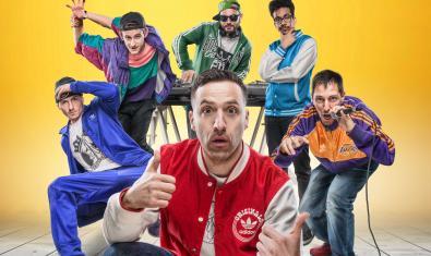 Els intèrprets de 'Reto en el ghetto'