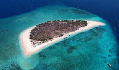 Una isla en Indonesia