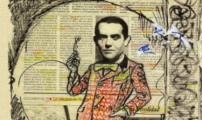 Detall del cartell de 'Rhapsody in Lorca'