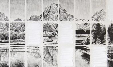 Una de las obras del artista Ricardo Cabret