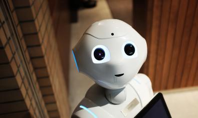 Imatge d'un robot humanoide
