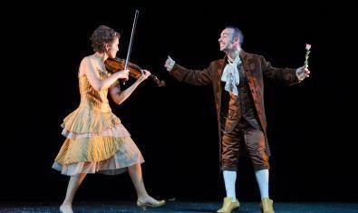 Romeo y Julieta en el escenario