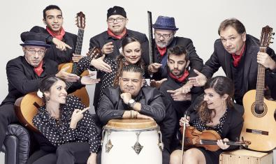 Los míticos Sabor de Gràcia celebrando sus 25 años en activo