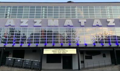 Una imatge de l'exterior de la sala de concerts del Poblenou