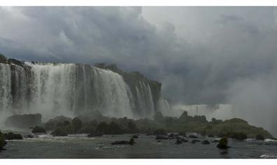 Una imatg de les cascades de l'Iguaçú copsada pel fotògraf