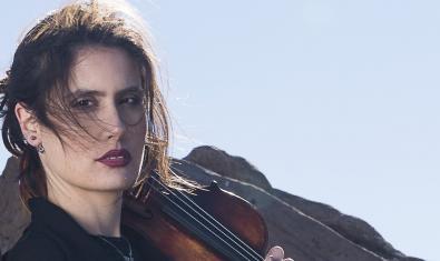 La violinista Sara Cubarsi, una de les intèrprets del Festival Emergents
