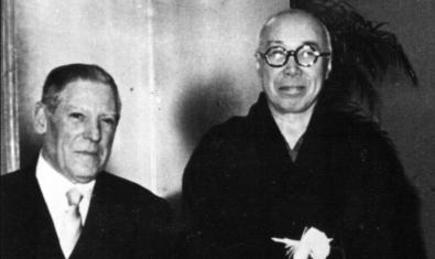 Josep Llorens Artigas y Hamada Shōji