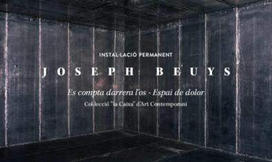 'Se cuenta detrás del hueso –  Espacio de dolor' de Joseph Beuys