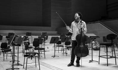 El violoncel·lista Sheku Kanneh-Mason. Fotografia de May Zircus
