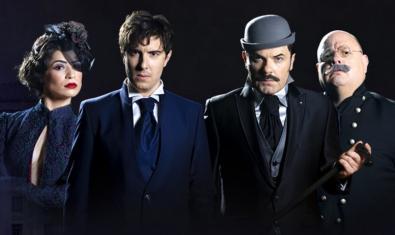 Els protagonistes de 'Sherlock Holmes y el destripador'