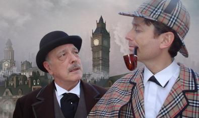 Sherlock Holmes y su inseparable Dr. Watson.