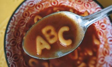 Imagen de una sopa de letras
