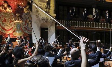 Una actuación reciente de la OCM en el Palau de la Música