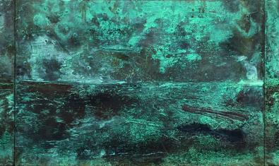 'Snowing in the Desert', una de las obras de Riera i Aragó que se pueden ver en la galería