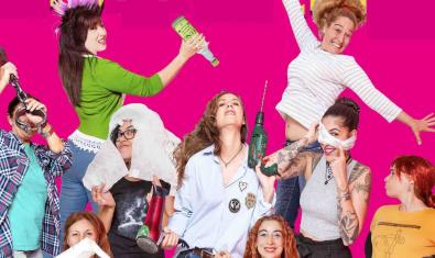 Retrato de grupo de las mujeres participantes en la iniciativa